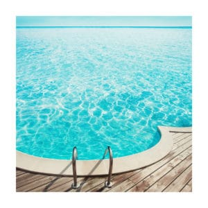 Open Swim nadia attura limited edition giclee print seascape