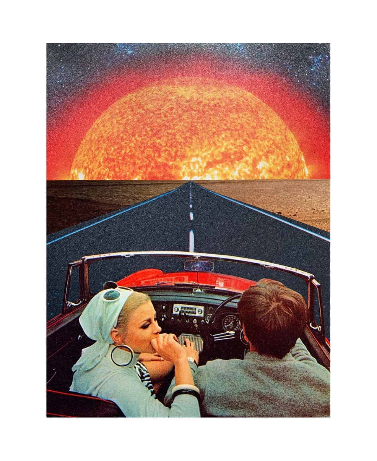 joe webb on the road digital graphic limited edition print